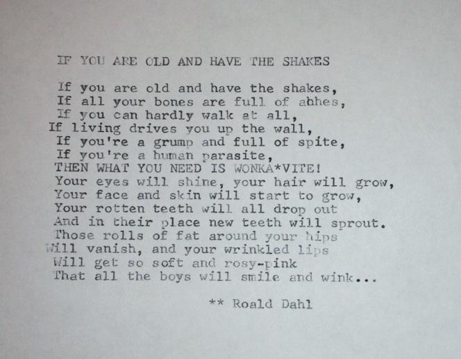 Dahl Poem