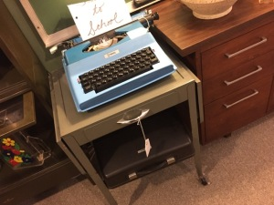 Typewriter Table