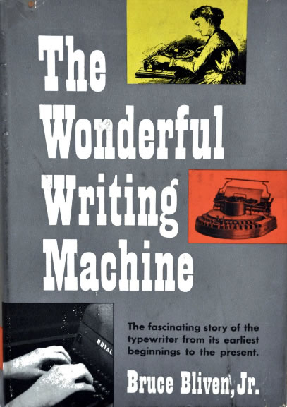 The Wonderful Writing Machine Cover