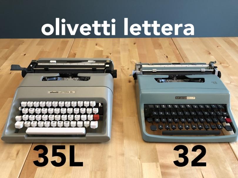 Lettera 35 & 32